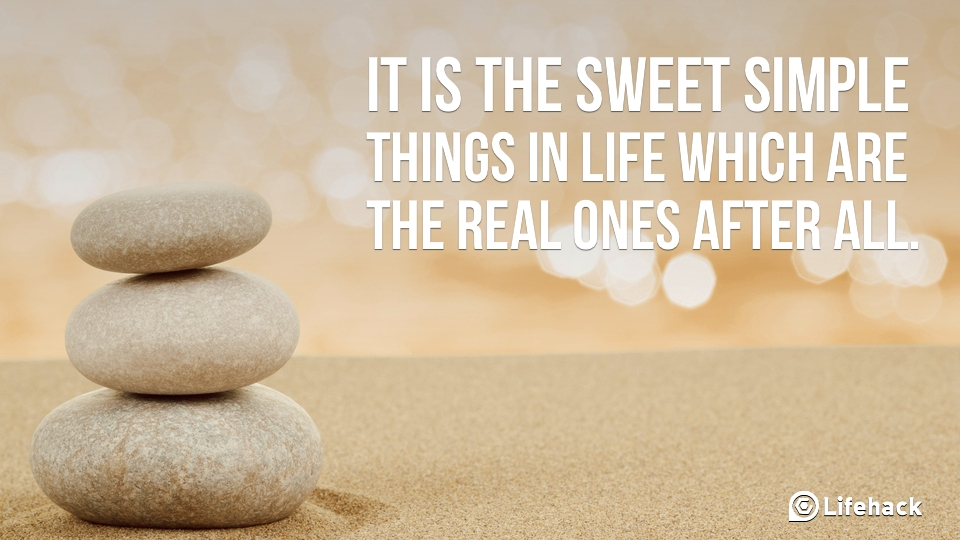 Those Simple Things in Life! (1/3)