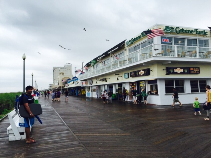The Boardwalk at the Beach