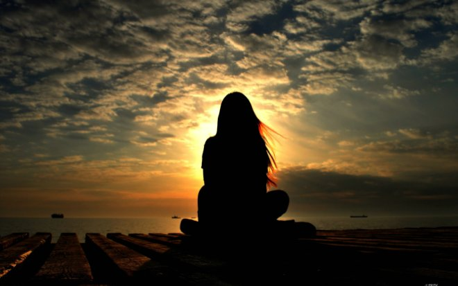 meditation-girl-silhouette-wallpaper-1920x1200