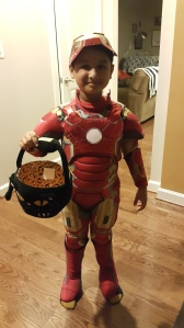 My very own Iron Man! ©Mind and Life Matters
